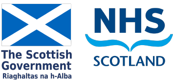 Scottish Goverment NHS Scotland logos